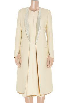 Calvin Klein Collection Karsen cotton-crepe coat