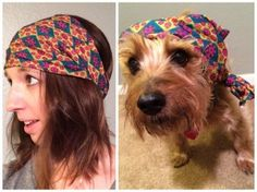 who wore it better? #dogs #fashion