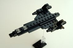 minimal SR-71 in Lego (modified)