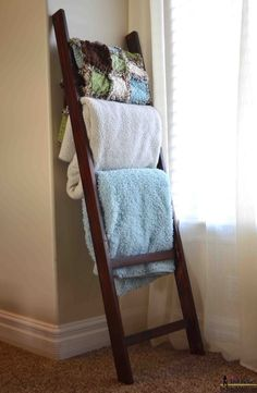A blanket ladder is a great storage solution for bulky blankets and throws. http://apartmentsforsaleatbannerghattaroad.wikidot.com/