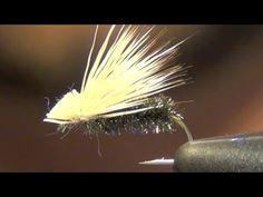 PEACOCK ELK HAIR CADDIS FLY TYING VIDEO INSTRUCTIONS