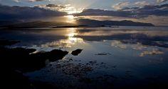 Sunset over Broadford Bay Isle of Skye 1