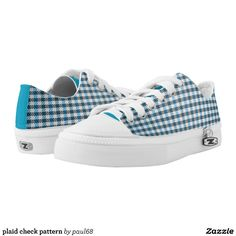 plaid check pattern Low-Top sneakers
