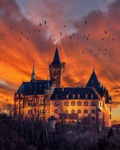 Wernigerode Castle. Harz Germany Photo by:...