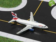 GJBAW715 Gemini Jets B 737-505 British Airways 1:400 Reg G-GFFG
