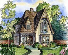 Adorable Cottage - 43000PF   Architectural Designs - House Plans