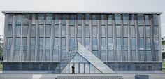 Проект центра административных услуг в г. Харькове с алюминиевыми профилями.  Завершение строительства - апрель 2017.