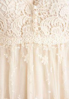 Coconut Delight Dress, #ModCloth