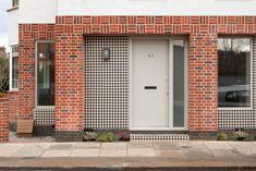 Brick Cladding, Brick Facade, Brickwork, Terrace Building, Building Facade, Building A House, Architecture Career, Brick Architecture, Architects Journal