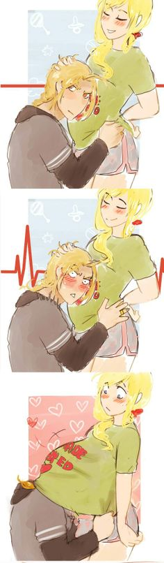 by yuuba | Haha! So cute :3 Edward and Winry