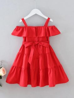 Baby Dress Design, Baby Girl Dress Patterns, Baby Girl Party Dresses, Toddler Girl Dresses, Dresses For Toddlers, Kids Frocks, Frocks For Girls, Cute Little Girls Outfits, Kids Outfits