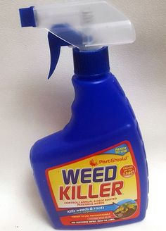 500ml Spray Bottle Weed KILLER Fast Acting Kills Weeds ROOTS READY TO USE B2GOF PETSHIELD