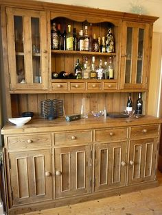 Solid Welsh Oak Dresser