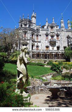 Ornate Palace, Sintra Portugal