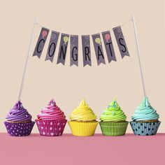 Create fun, on-trend banners to decorate everything from cupcakes to layer cakes. Custom banners add a sweet touch to parties, receptions and family gatherings. This Pinnovation die makes customizing party accessories a pleasure