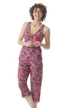 Majamas Pachisi Nursing PJ Set in Blossom