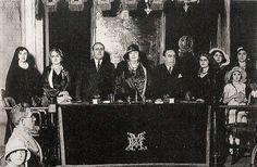 Efemérides de Madrid. 24 de febrero. Carmen de Burgos preside un acto pro-divorcio el 12 de septiembre de 1931.