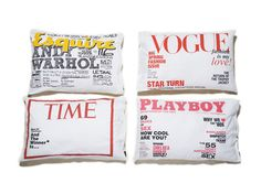 Un pequeño derroche de personalidad para descansar. Pillows!!!
