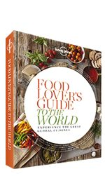 A delicious gift for the food lover in your life. When we travel, it's often love at first bite. Food Lover's Guide to the World presents a lifetime of eating experiences that will lead you from one end of the globe to the other. Take your taste buds on a tour around the world and cook up your next great culinary adventure. Read more: http://shop.lonelyplanet.com/world/food-lovers-guide-to-the-world-paperback/#ixzz3E1Gv14Hd