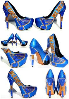 St. Louis Blues Heels!  So hot you will melt the ice!