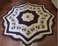 Irish crochet &: CROCHET RUG ... КОВРИК