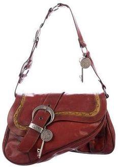 e7540666d7a0 Christian Dior Canvas Rasta Leather Saddle Hand Shoulder Bag  316 ...