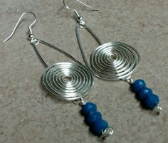 #125 Silver plated earrings