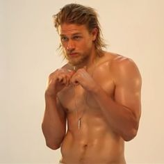 Pin for Later: Shirtless Charlie Hunnam Couldn't Be Hotter in These Videos