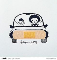 The adorable creations of Canadian illustrator Hyemi Jeong, based in Toronto, who is having fun with the small everyday objects with cute and creative illustr Object Drawing, Drawing S, Comic Drawing, Creative Illustration, Photo Illustration, Pencil Drawings For Beginners, Small Sculptures, Everyday Objects, Art Plastique
