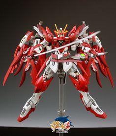 "Custom Build: HGBF 1/144 Wing Gundam Zero Honoo ""Detailed"" - Gundam Kits Collection News and Reviews"
