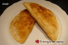 Great recipe for Fluffy pisia. Fluffy pisia, a traditional dumpling from Pontos similar to piroshki, filled with cheese or potato. Recipe by lenale Cooking Time, Cooking Recipes, Macedonian Food, Savory Muffins, Savoury Pies, Bread And Pastries, Recipe Images, Sweet And Salty, Greek Recipes