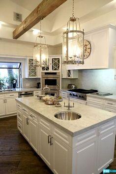 Kyle Richards kitchen @ Home Design Ideas...