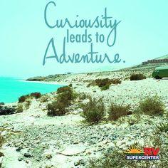 Let curiosity be your roadmap! #adventure #travel #goRVing AllSeasonsRV.com