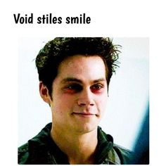 I don't watch Teen Wolf, but I really do love void Stiles!