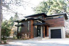 Modern home design Evolution Architecture, Architecture Details, Interior Architecture, Modern Exterior, Exterior Design, Victoria House, Woodland House, House Siding, Modern House Design
