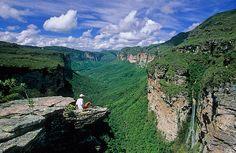 Vale do pati - Mirante do vale do cachoeirão, Chapada Diamantina, Brazil