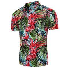 d3247f56 Cheap beach shirts men, Buy Quality hawaiian shirt directly from China mens  beach shirts Suppliers: USRUER-YEEZY Camisa Brand Summer Hawaiian Shirt  2017 New ...