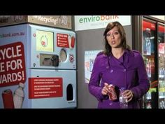 Innovative Reverse Vending Solutions Envirobank Recycling provides litter solutions for beverage containers in all public places, events, sh. Recycle Cans, Recycling, 7 Eleven, Vending Machines, Ui Design, Science And Technology, Beverage, Environment, Gadgets