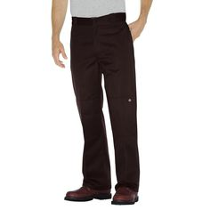 DICKIES PANTS WORK PANT MULTI USE POCKETS BROWN MENS SIZE 32-34