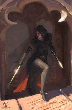 File:ACS Art of Assassin's Creed Syndicate Evie Frye. Assassins Creed Syndicate Evie, Assassins Creed Female, Rogue Assassin, Assasin Female, Fantasy Characters, Female Characters, Character Concept, Character Art, Concept Art