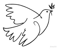 'Dove of Peace by Picasso' Art Print by Arina Galitsyna <br> Art Print Dove Sketches, Peace Dove Tattoos, Picasso Dove Of Peace, Dove Drawing, Peace Bird, Peace Poster, Cute Little Drawings, Black And White Sketches, Picasso Art