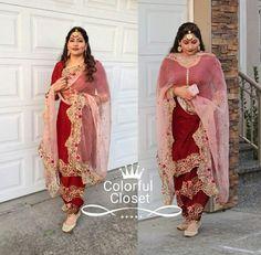 @manidrehar❤ Designer Punjabi Suits Patiala, Indian Designer Suits, Kids Suits, Suits For Women, Clothes For Women, Indian Party Wear, Indian Wear, Sara Fashion, India Fashion