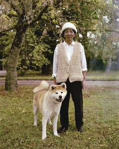 Portraits of people who wear their dog's fur as clothing