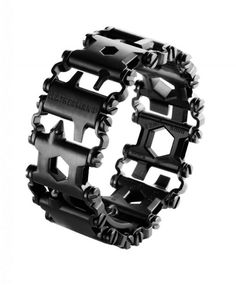 Wearable Multi-Tool Bracelet You Can Take on an Airplane [Video & Gallery]  You don�t know how useful a tool is until you start carrying it everywhere. Like grandpas who never left their pocket knife at home, or women who have a multi-tool in their purse, it�s amazing what a few simple tools can do to save the day. That�s why the design for Leatherman�s new Tread is so very cool. They�ve managed to pack 25 very useful tools into the form factor of a watch band, making a tool that is ...