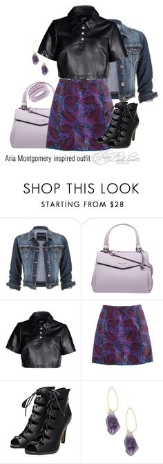"""Aria Montgomery inspired outfit/PLL"" by tvdsarahmichele ❤ liked on Polyvore featuring maurices, Fiorelli, Hood by Air, J.Crew, Lonna & Lilly and Swarovski"