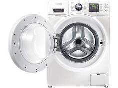 Lava e Seca 10,1kg Samsung WD103U4SAWQ/AZ - 5 Programas de Lavagem com as melhores condições você encontra no Magazine Worldlmarcks. Confira!