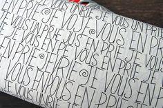 Yuwa textile. Japan. JE VOUS EN PRIE.