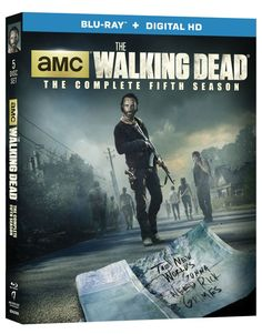 THE WALKING DEAD Season 5 DVD And Blu-ray Release Details