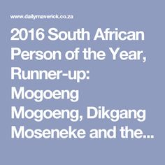 2016 South African Person of the Year, Runner-up: Mogoeng Mogoeng, Dikgang Moseneke and the Constitutional Court of South Africa | Daily Maverick