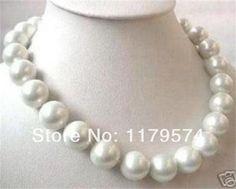Cheap Grande 14 mm AAA mar blanco del sur SHELL collar de perlas 18 pulgadas WJ106, Compro Calidad Cadenas directamente de los surtidores de China:          Productos      :           Mi tienda  tiene       Vendido       Productos       Es       Básicamente, el modo d